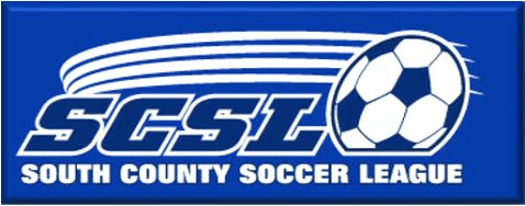 South County Soccer League logo Opens in new window