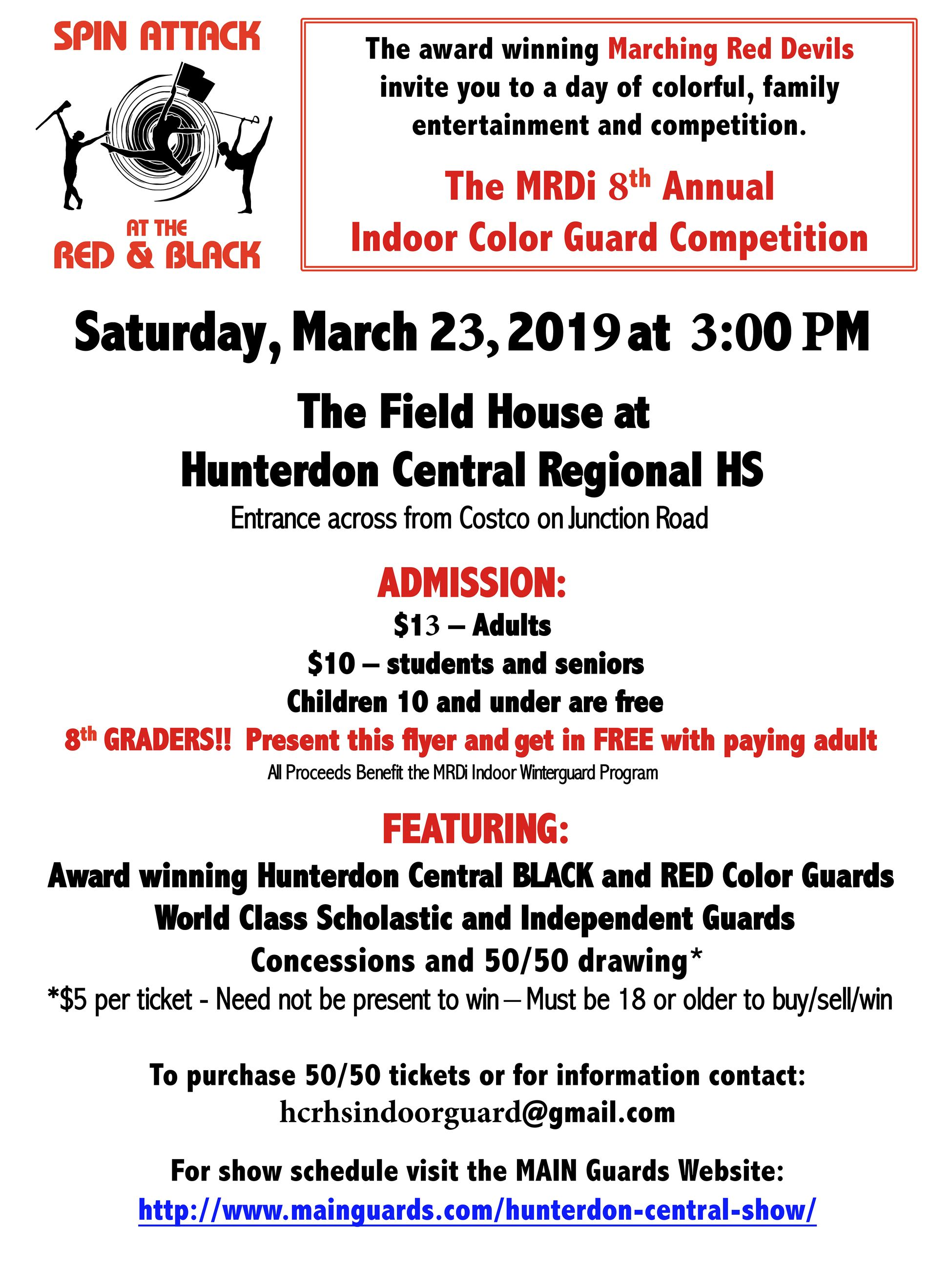 HC Color Guard show March 23 2019 Opens in new window